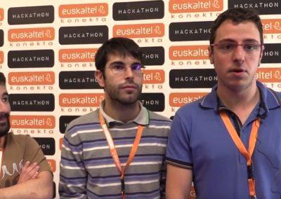 Los Ganadores: José Fernando, Julen y Andoni