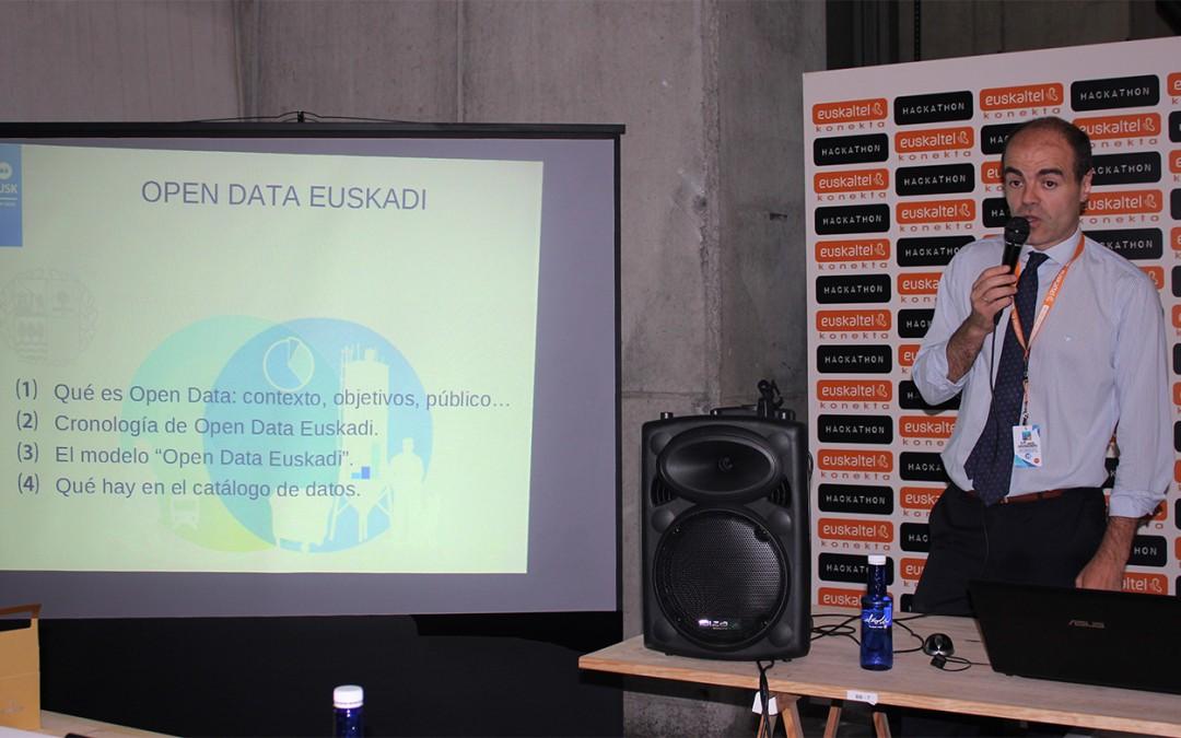 Hackathon'15: Open Data Euskadi, el buscador de datos gratuito para la ciudadanía