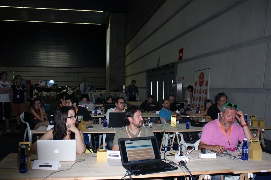 Participantes del Hackathon 2015